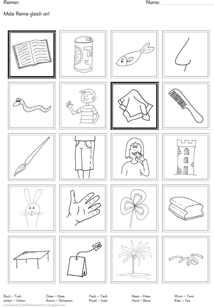 16 besten Arbeitsblätter Vorschule Bilder auf Pinterest ...