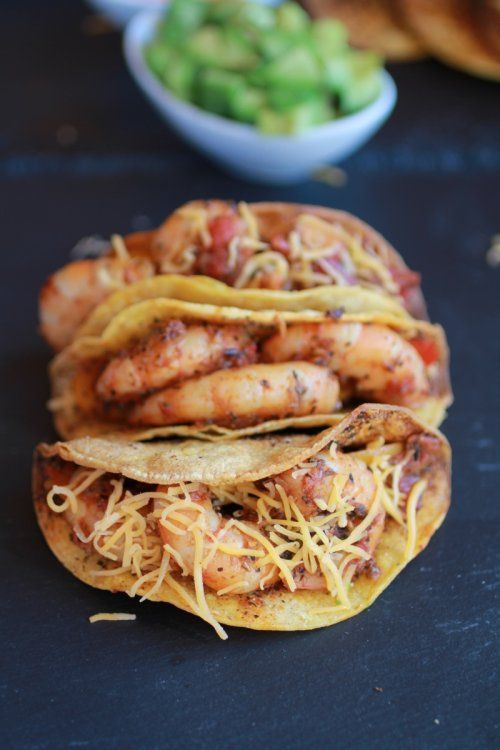 Shrimp Tacos - got totally hooked on them in Mexico and have recreated them at home.