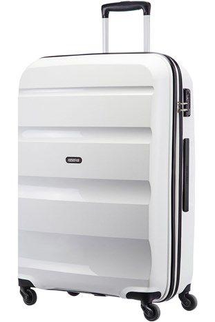 Sommerkampanje. Bon Air stor hard koffert hvit fra Samsonite