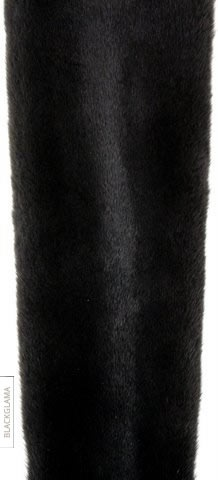 Natural Mink Colors - Blackglama, Black, Mahogany, Brown, Glow, Silverblue, Blue Iris, Sapphire, Palomino, Pearl, White