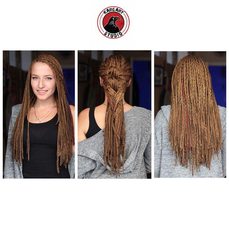 •Standart Afrika Örgüsü • sarı renkteki saçlar için bu renk baya uyumlu a dostlar ✋ •0555 899 03 30 •www.kargartstudio.com
