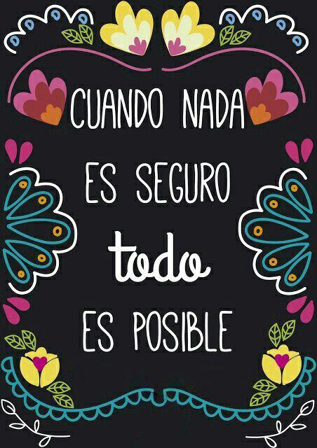 Siempre!! #todoesposible