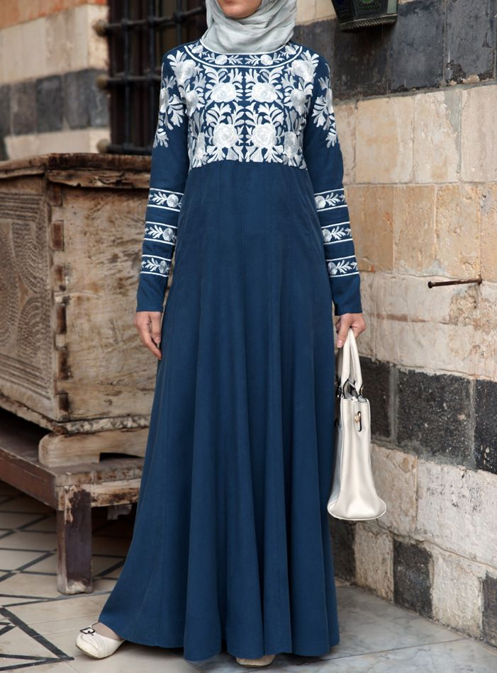 SHUKR USA | Sara Embroidered Gown