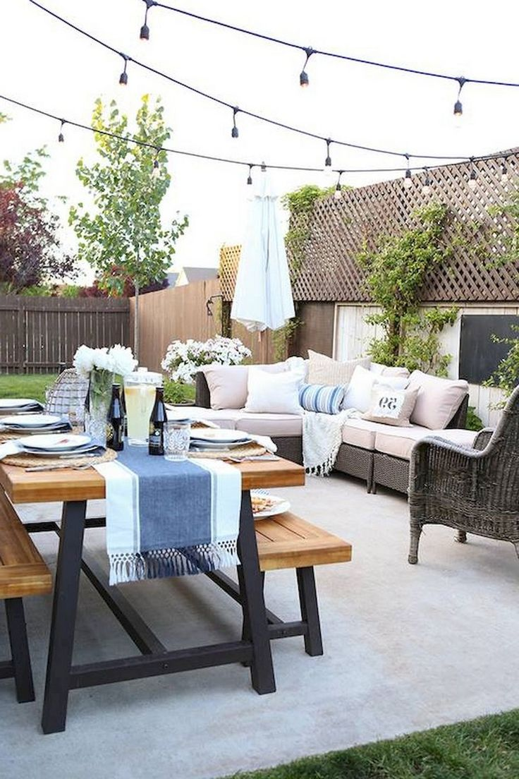 28 beautiful farmhouse backyard ideas landscaping on a