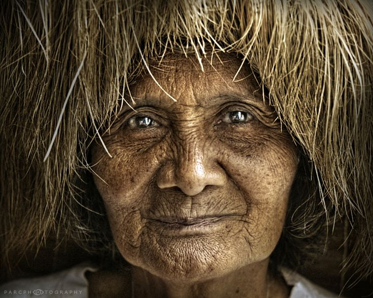 Glassy Eyes Of An Ivatan Lady The Ivatan I Think Are Very