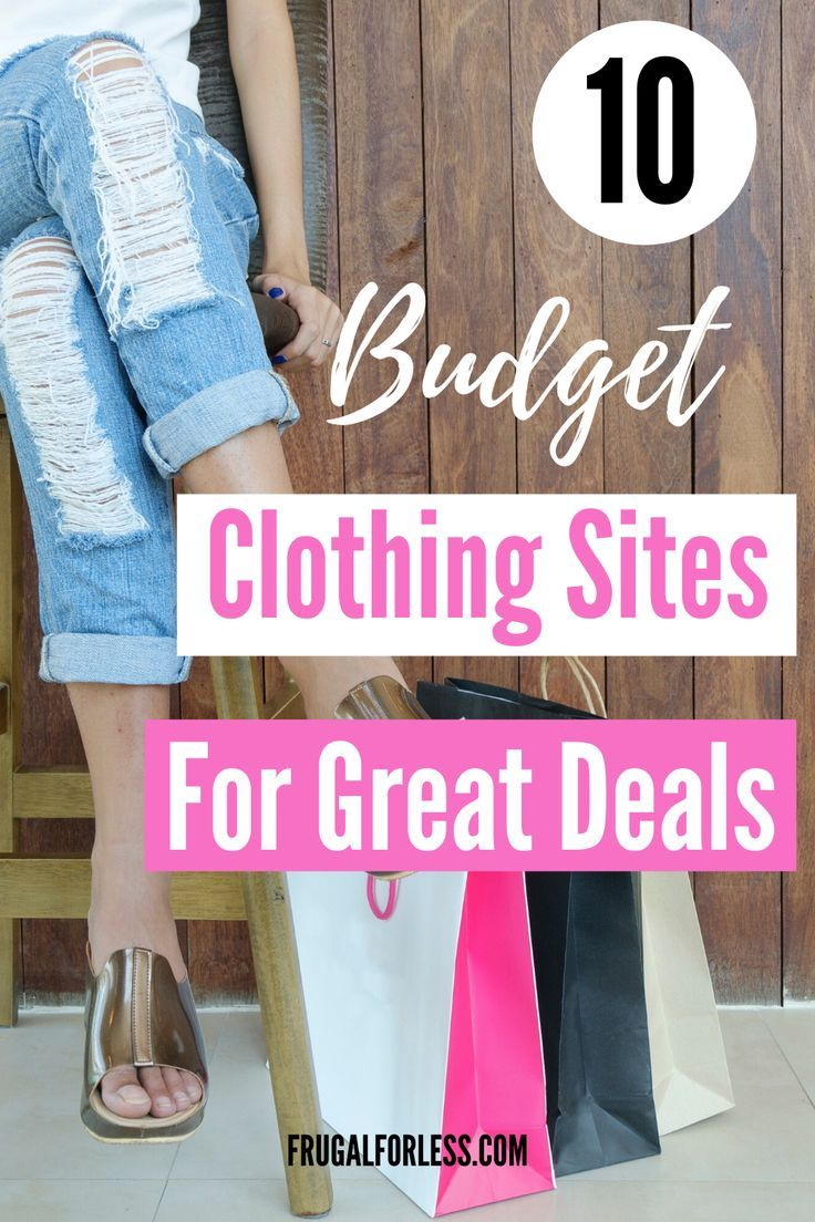 10 Budget Clothing Sites for Great Deals and Budget