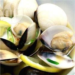 Clams Steamed in Sake @ allrecipes.com.au