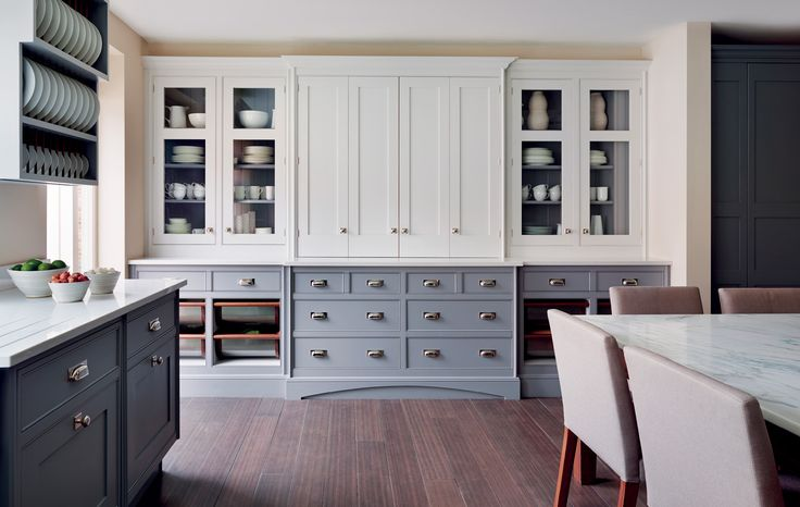 Greys and Whites - Smallbone of Devizes   Hand Painted Kitchen Collections   Painted Kitchen Cabinets