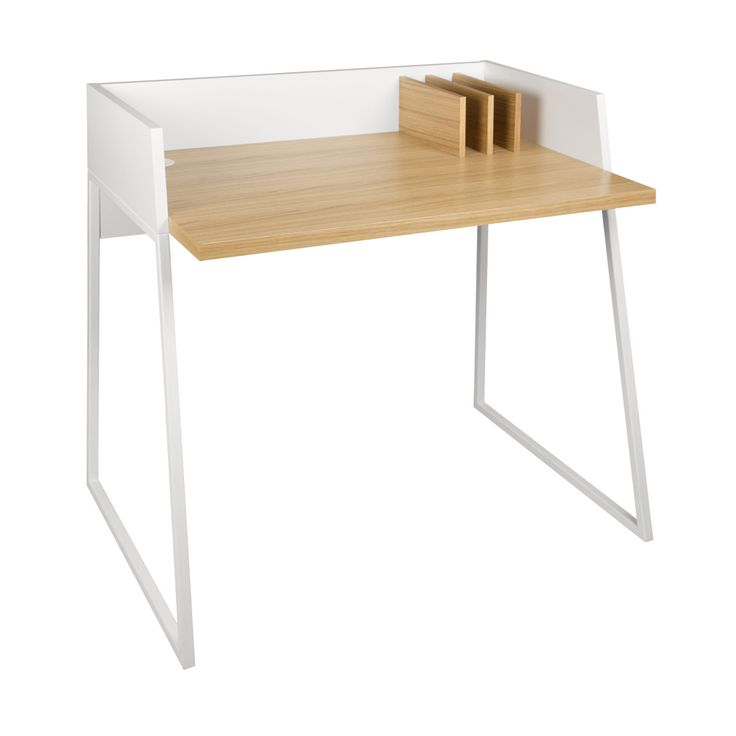 Revel Schreibtisch Eiche/weiu0026szlig Jetzt Bestellen Unter: ...