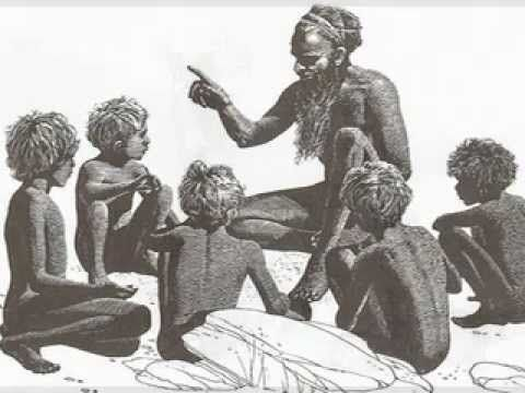 A video clip of a Dream time story about the Wurundjeri tribe of the Yarra. (ACHHK060)