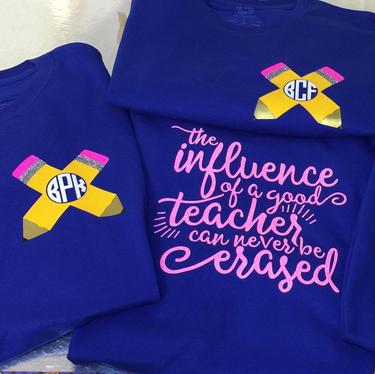 ✏️ATTENTION TEACHERS✏️ Get your cute personalized pencil shirt for back to school! It also includes an inspirational teacher quote on the back.  These also make great gifts for those special teachers in your child's life.
