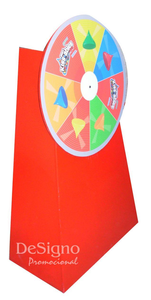 Ruleta #JuegosPromocionales #BTL #POP #Promoción