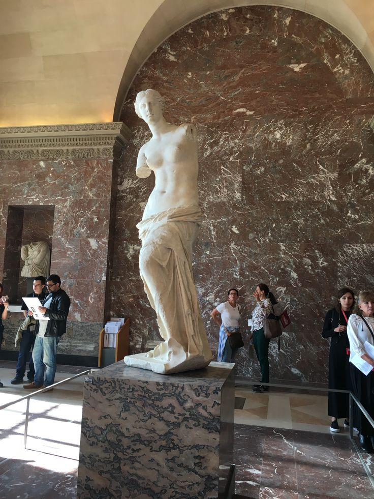 First time I have found the Venus de Milo. In the Louvre.
