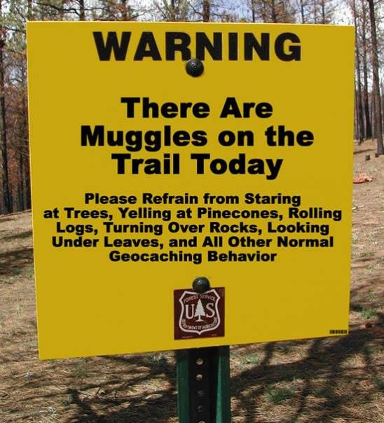 With less than 1% of the global population aware of geocaching, there are plenty of Muggles to contend with for the avid geocacher.
