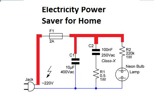 Electricity Power Saver for Home Appication