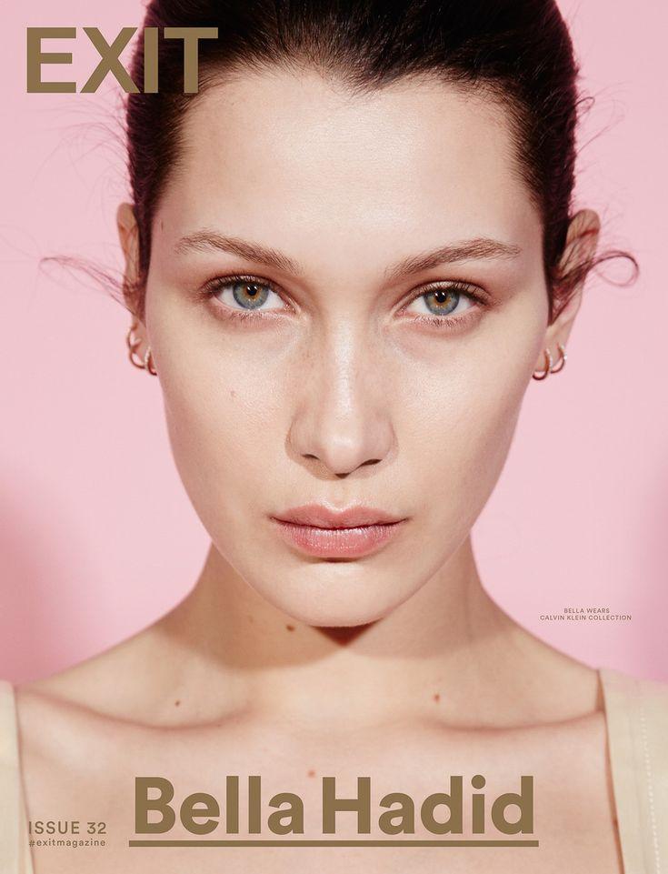 Exit Magazine Spring 2016 Bella Hadid by David Roemer