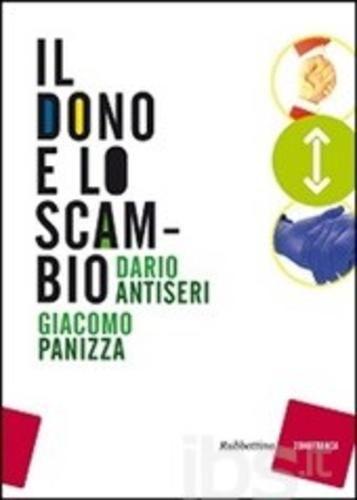 Il #dono e lo scambio editore Rubbettino  ad Euro 10.00 in #Rubbettino #Libri filosofia filosofia