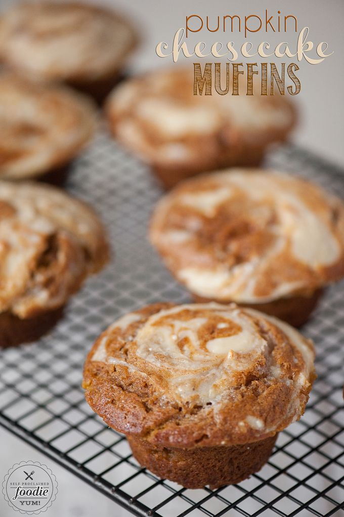 about Pumpkin Cheesecake Muffins on Pinterest | Pumpkin Cheesecake ...