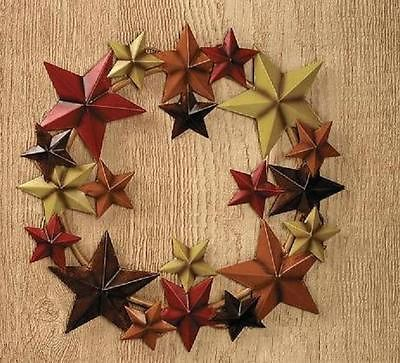 FALL-or-THANKSGIVING-14-Metal-STAR-WREATH-in-Fall-Colors-Barn-Star