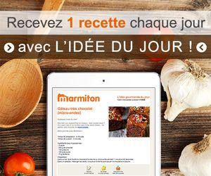 Cappuccino de coquilles Saint-Jacques au curry et à la coriandre - Recette de cuisine Marmiton : une recette