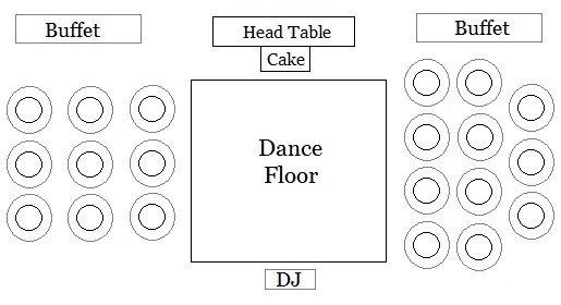 66 best wedding floor plans images on pinterest