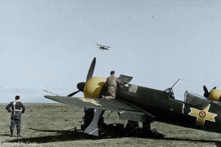 The IAR 80 was a Romanian World War II low-wing, monoplane, all-metal monococque fighter and ground-attack aircraft.