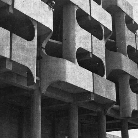 Grunwaldzki, Wrocław. 1970-73, Jadwiga Grabowska-Hawrylak