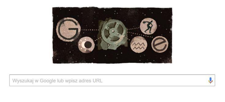 Dziś na stronie wyszukiwarki Google umieszczono doodle poświęcony Mechanizmowi z Antykithiry. Jeden z najbardziej tajemniczych wynalazków starożytności zdradza niezwykle zaawansowany poziom technologii naszych przodków.