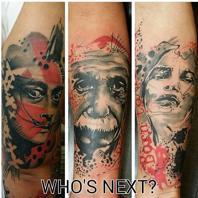 #ShareIG I am looking to do more portraits in this style. if you are interested please send me your idea so we can discuss the project. Bob marley, Bruce lee, Marilyn Monroe, etc. We can discuss price if decided to be tattooed. Thank you. #tattoolife #tattooart #tattoo #inked #tattoosinmiami #tattoolove#miami #dadecounty #miamiartist #miamiart#trashpolka #abstract #abstractart #abstracttattoo#polkatrash#salvadordali#salvadordalitattoo#einsteintattoo#alberteinsteintattoo#skinart ...