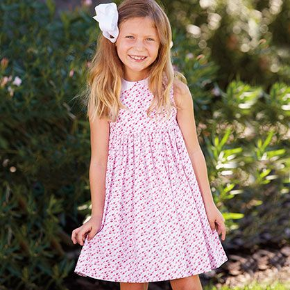 Peter Pan Sundress $52  Classic children's clothing with vintage fashion and preppy style.