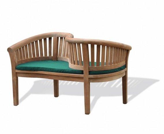 teak garden love seat love bench
