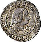 Artemide Aste - Asta XXXIII: 417 - Milano Galeazzo Maria Sforza (1466-1476) Grosso da 4 soldi. - Dea Moneta