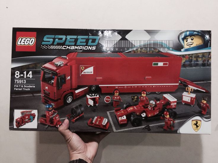 Lego F14 T & Scuderia Ferrari Truck.. Feels like own real ferrari lol