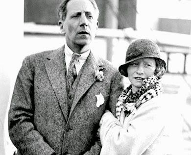 This is Eugen Boissevain with his second wife, Edna St. Vincent Millay. His first wife was Inez Milholland.