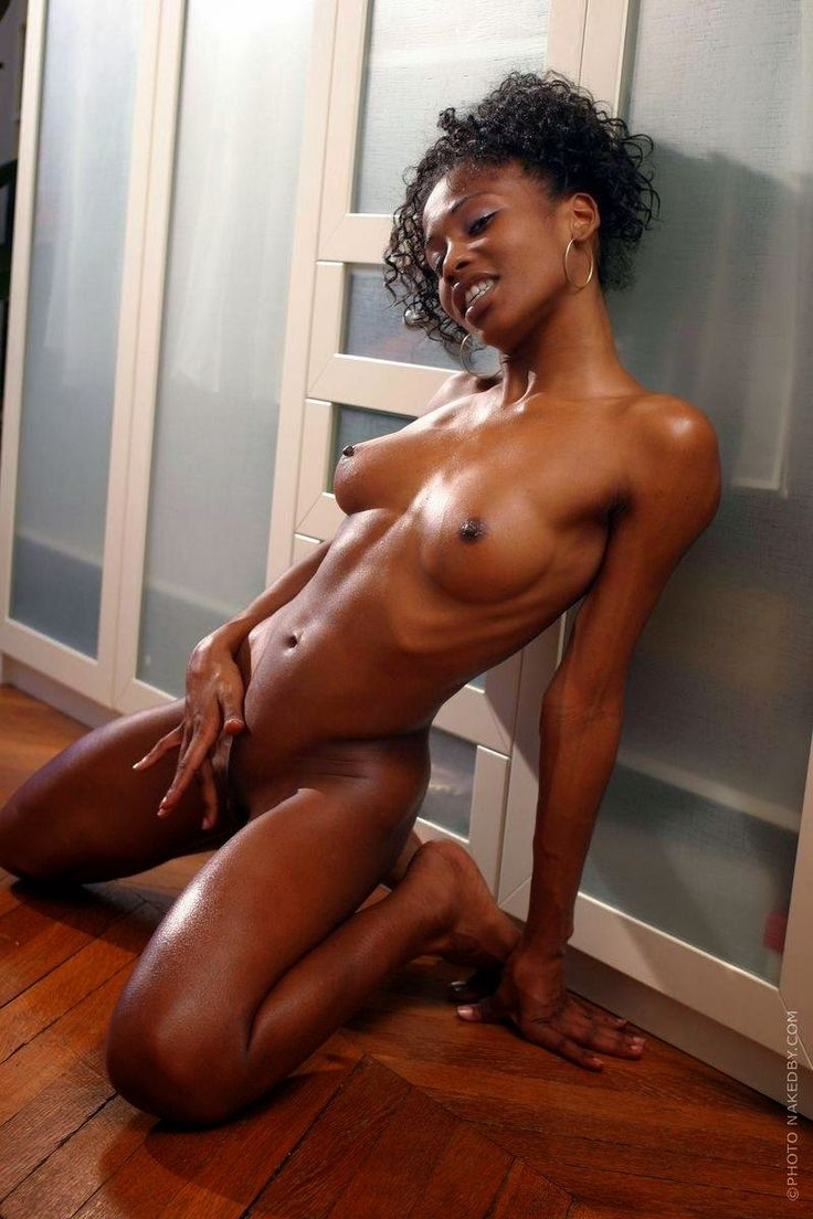Skinny black girl nude dark skin