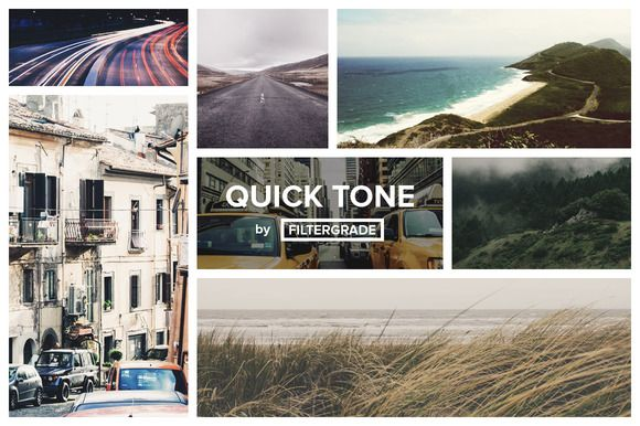 Check out [SALE] QuickTone - Photoshop Actions by FilterGrade on Creative Market