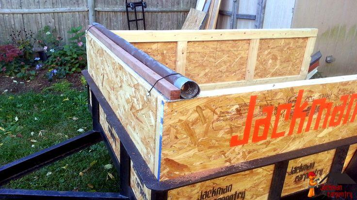 Jackman Carpentry: Utility Trailer Customization