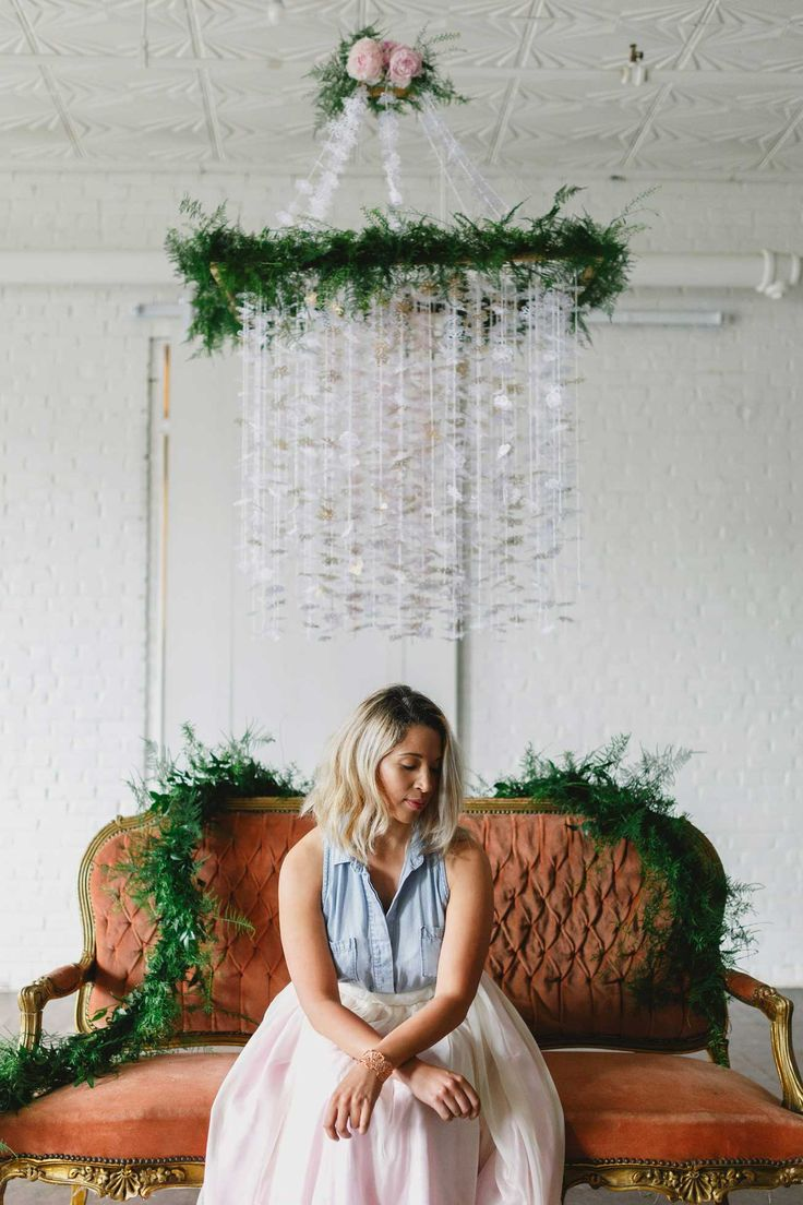 Welcome guests and family to your home or party celebra-tion this Fall in style! Create a DIY chandelier using paper and punches to create the perfect festive look.