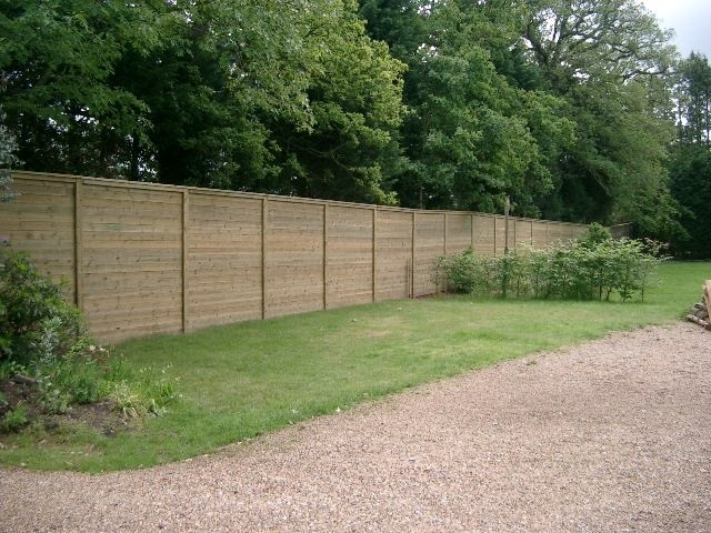 Great Acoustic Fencing In A Back Garden   #home #garden #sound #barrier #