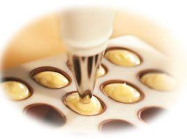Chocolade- en bonbon- recepten
