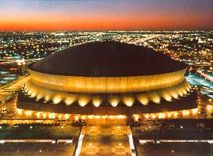 New Orleans Superdome.