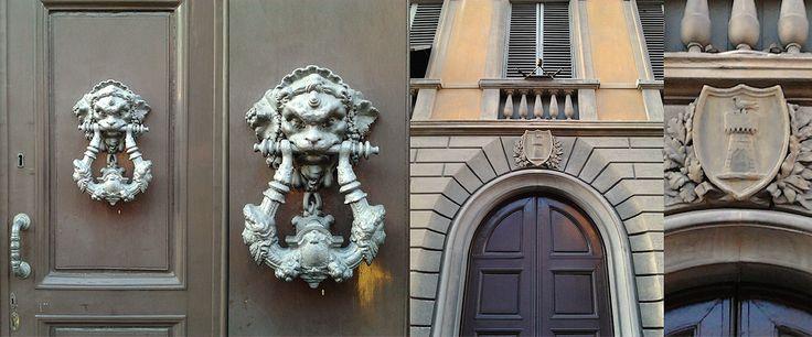 Ingresso nobile e storico per la Residenza d'Epoca Toscanelli