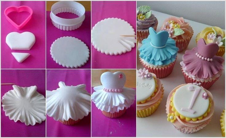 Comment faire des cupcakes ballerine! - Trucs et Bricolages - Too cute!