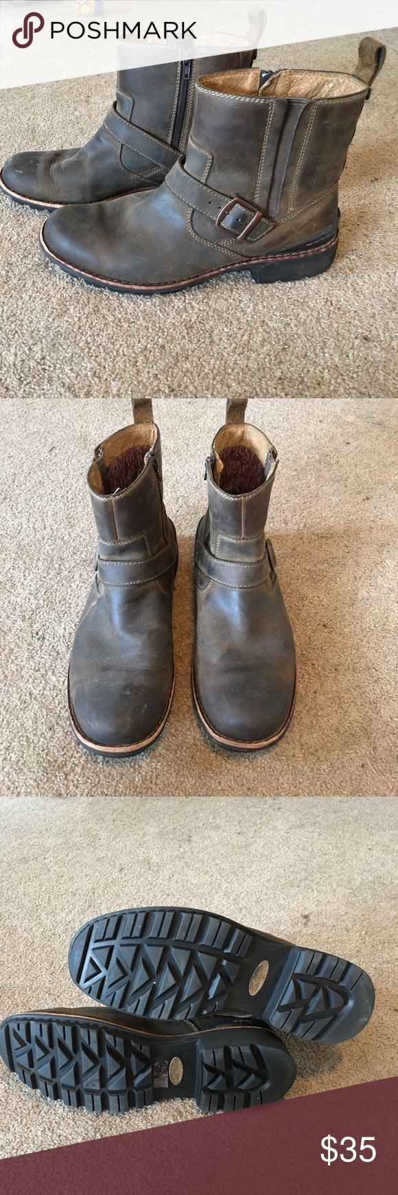 Men's Clarks boots Great condition and tons of life left. Clarks Shoes Boots