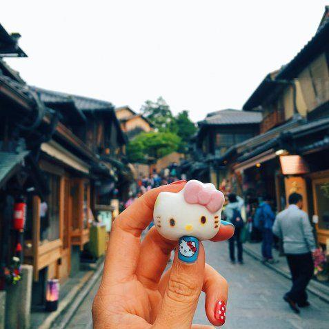 Kitty γλυκάκι, Κιότο, Ιαπωνία