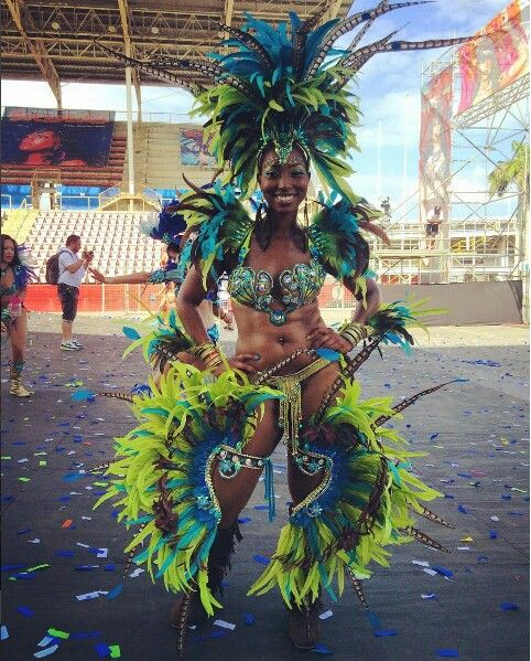 Trinidad Carnival Diary: Bliss Savage Beauty Trinidad