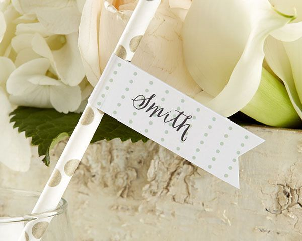 party straw flags kateu0027s rustic wedding collection