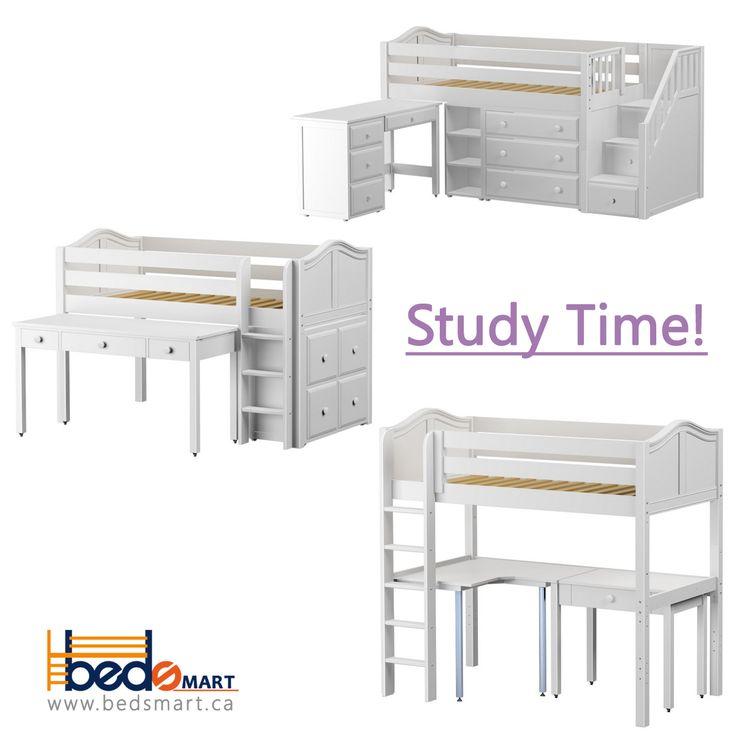 Choose your favorite Maxtrix Study Station!  Order  Loft Beds & Bunk Beds at BEDSMART Store/Mississauga or online at www.bedsmart.ca Offers are amazing & WON'T LAST. #bunkbed #kidsroom#boysroom#girlsroom#kidsdecor#interiordesign#kidsinsparation#kidsroomwithstyle#bedsmart#bedwithstorage#smallspaceliving#shopping#toronto#shoppingonline#kidsdecore#loftbed#lofts