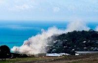 Tebing di Selandia Baru Runtuh Akibat Gempa