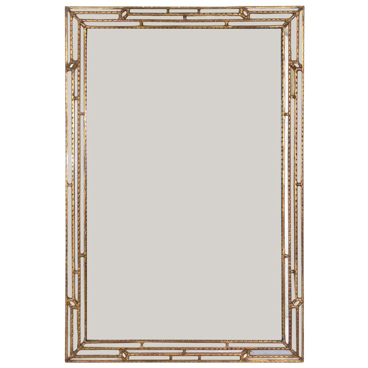 Large Scale Italian Gilt Mirror   From a unique collection of antique and modern wall mirrors at https://www.1stdibs.com/furniture/mirrors/wall-mirrors/